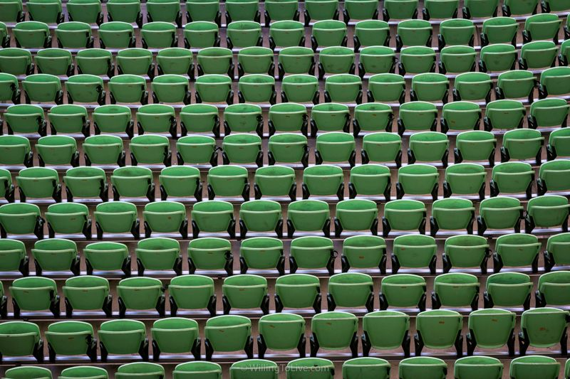 Grandstand's pattern | 134mm equiv.; f5,6; 1/125; ISO 400