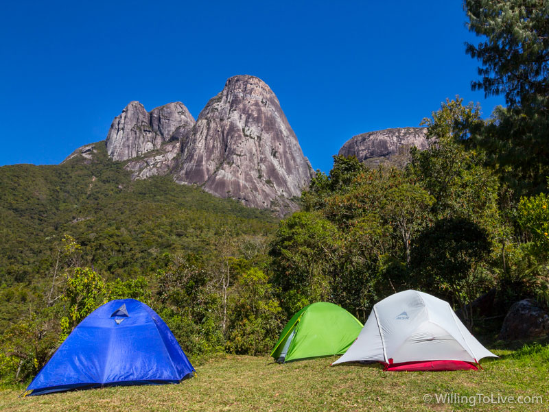 Imagine waking up with the view of the Três Picos...
