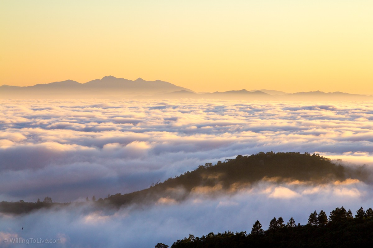 Cloud inversion. Next time, I will do a long exposure! | ISO 100; 168mm equiv.; f/11; 1/160s