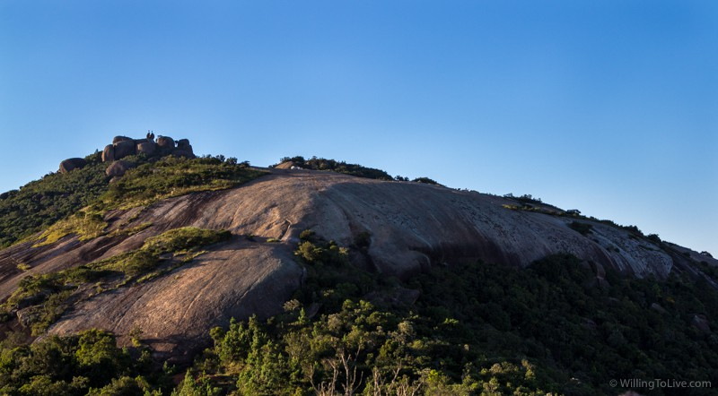 View of Pedra Grande from the trail | ISO 100; 51mm equiv.; f/8; 1/160s